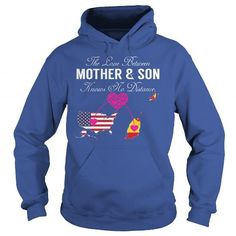 I Love Mother and Son - United States Grenada T-Shirt