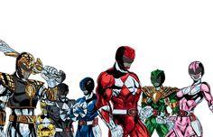 """Mighty Morphin Power Rangers Comic Art"" (http://ctcfirebird.deviantart.com/gallery/#/d4svzzf)"