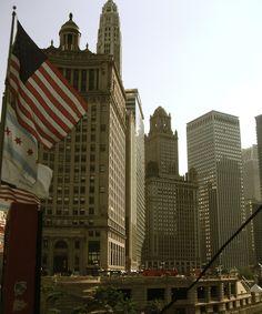 #ridecolorfully place #2 Chicago North Michigan Ave. Bridge