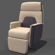 Airline Chair 3Ds - 3D Model