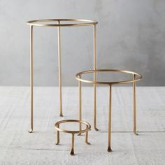 Designed and crafted exclusively for terrain these solid brass plant stands are an elegant base for your favorite potted beauties A terrain exclusive Solid brass Item. Tall Plant Stands, Metal Plant Stand, Stand Tall, Hanging Plants Outdoor, Indoor Plants, Indoor Gardening, Tall Plants, House Plants Decor, Plant Decor