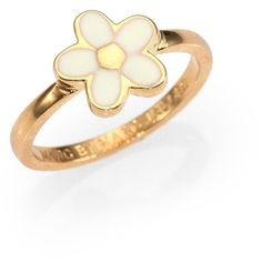 Marc by Marc Jacobs Enamel-Daisy Ring ($34) ❤ liked on Polyvore featuring jewelry, rings, accessories, jewels, anillos, marc by marc jacobs jewelry, marc by marc jacobs, marc by marc jacobs ring, daisy ring and enamel jewelry