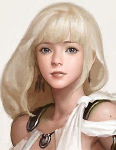 Female Character Design, Character Design Inspiration, Character Art, Fantasy Women, Fantasy Girl, Fantasy Images, Art Station, Portrait Art, Cartoon Art