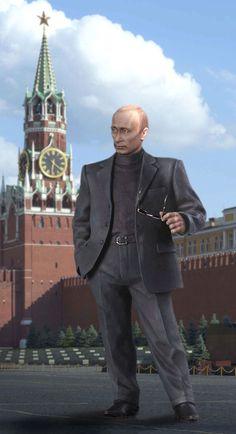 Путин Владимир Владимирович, президент России, с 2000.  М1:14.