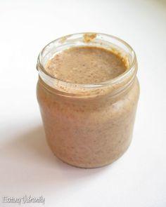 Raw Almond Butter in a jar