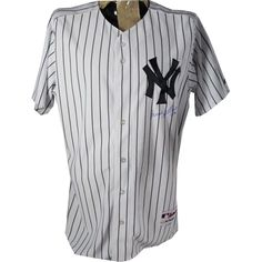 f0e6e3d317bf5d Bernie Williams Signed New York Yankees Authentic Home Jersey (Signed on  Front) (MLB Auth)
