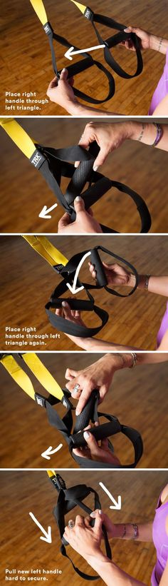 Includes how to tie/convert your TRX straps into single-handle mode to practice wheel pose and other backbends.