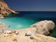 Seychelles Beach Ikaria Παραλια Σευχελλες Μαγγανιτης Ικαρια