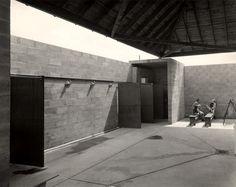 The Bath House, Louis Kahn