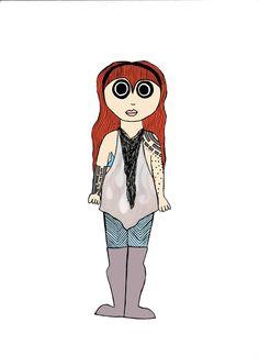 Girl #2 @bydialuga