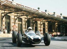 Phil Hill (Cooper-Climax T73) at Monaco 1964, Monte Carlo