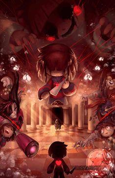 Undertale: Genocide run fanart by Spectrolite AAA (WalkingMelons' new nickname) Flowey Undertale, Undertale Game, Undertale Comic Funny, Undertale Pictures, Anime Undertale, Undertale Drawings, Frisk Fanart, Fan Art, Flowey The Flower