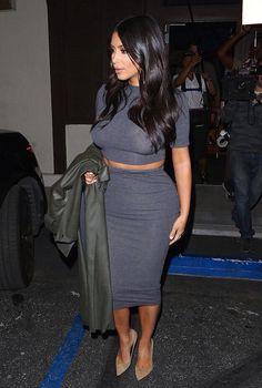 Kim Kardashian West in LA