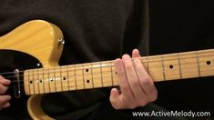 An Easy Guitar Solo in the Major Pentatonic Scale (Key of E)