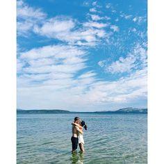 Luke Shadbolt and Nicole Warne - In Tasmania, Australia. (25 December 2015)