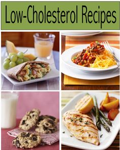 Looking forward to checking these out... esp the chocolate chip cookies :) The Top 10 Low-Cholesterol Recipes