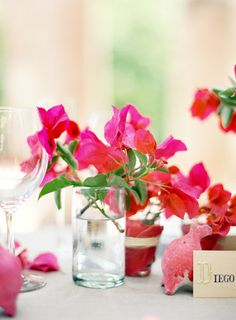 pink bougainvillea. yes please. styling by joy thigpen