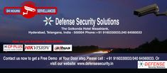 Defense Security Solutions offer  all inclusive of Security cameras Systems with complete security systems for your business and home also with latest Equipments And Technologies to match your business in the present industry standards. Click here to provide your details and we will get one of our team members to contact you directly www.defensesecurity.in
