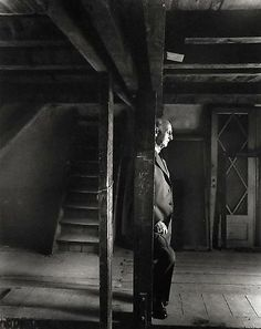 Otto Frank, Anne Frank House, Amsterdam, 1960