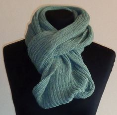 Hunter Green Cowl Scarf  Icelandic Production by HuldaGK on Etsy