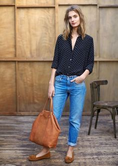 Best Tomboy Chic Outfit Ideas, The outfit is ideal for practically any occasion, just be sure to avoid the ketchup and other similar sauces! This outfit will certainly make you stic. Tomboy Chic, Casual Chic, Casual Fall, Chic Outfits, Spring Outfits, Fashion Outfits, Fashion Trends, Dressy Outfits, Casual Tomboy Outfits