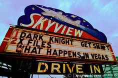 Drive-In Theater.