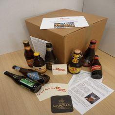 Notre envoi mensuel de l'abonnement découverte : 8 bières + livret informatif sur chaque bière + livret pour comprendre l'univers de la bière belge. Plus d'infos http://labelgiqueunefois.com//accueil