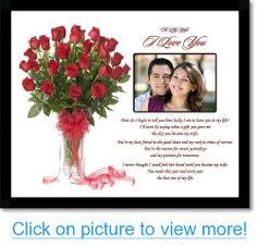 I Love You Gift For Wife Anniversary Or Valentines Day From Husband