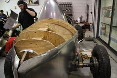 McPherson students helping replicate the roadster that won the 1935 Indianapolis 50 | Hemmings Daily