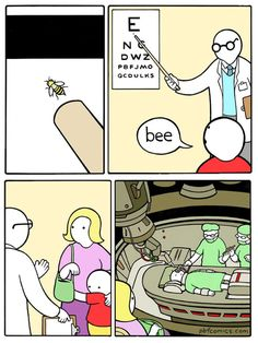 Why is this so funny? Chandler from friends: could this BEE anymore funnier?