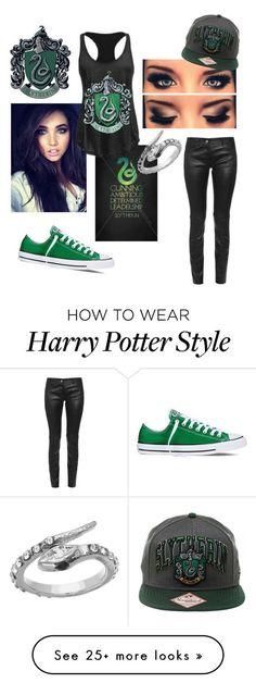 """""""Slytherin & Proud"""" Harry Potter Set, Harry Potter Style, Harry Potter Outfits, Slytherin Aesthetic, Slytherin Pride, Slytherin House, Slytherin Clothes, Hogwarts Outfit, Jarry Potter"""