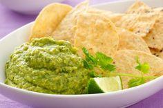 Avocado Hummus #dip #recipes #avocado #hummus