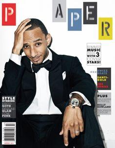Swizz Beatz Paper Magazine Cover