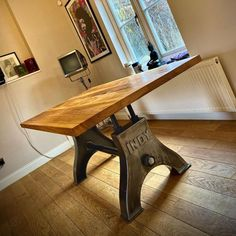 The INDY Table carries a strong industrial aesthetic. Ideal for a boardroom or conference table, restaurant/pub table, or office work station.   All our tables can be built with a steel, timber, or glass top.  Contact us to discuss customised options.  Price is determined by specifications, dimensions and shipping location. #diningtable #indyfurniture #industrialfurniture Industrial Dining, Industrial Furniture, Rustic Style, Modern Rustic, Hampton Court House, Conference Table, Dining Tables, Indie, Strong