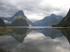 Milford Sound, New Zealand. The place I dream to see one day
