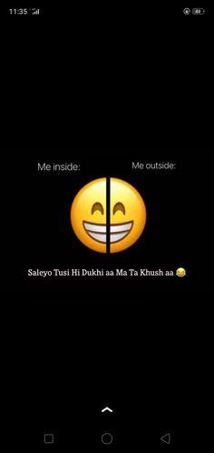 Bad Attitude Quotes, Punjabi Funny, Snap Food, True Quotes, Positivity, True Words, Optimism