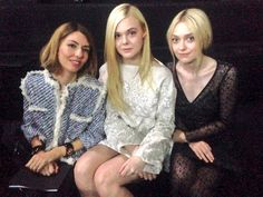 Front row at Louis Vuitton Spring-Summer 2014 Fashion Show #PFW #RTW #SS14 #LouisVuitton #LV #LVMH via @elleeditor