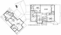 Home Plans HOMEPW76430 - 4,671 Square Feet, 4 Bedroom 5 Bathroom European Home with 3 Garage Bays  Like 2nd floor and basement