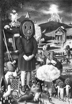 amandine urruty   The Surrealist Childlike Narratives Of Amandine Urruty Will Make You ...