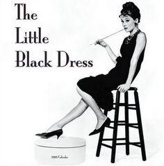 Coco Chanel #little_black_dress