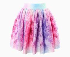 fe9ca919bf Online Shop Free Shipping 2014 summer skirt Fashion Irregular galaxy sexy  skirt wishful thinking skirt Women Mini Lovely colorful skirt
