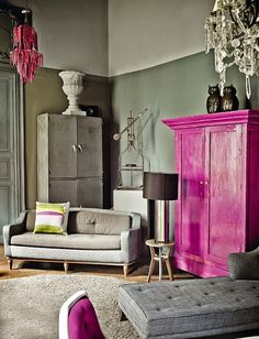 Mix and Chic: Home tour- A soulful and eclectic decorator's home in Mexico City!