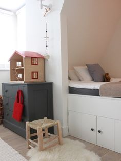 Contemporary Kids Room Idea In Amsterdam With White Walls Mdash...