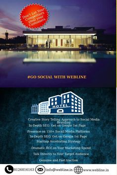 Go #Social with Webline Creative story telling approach to #SocialMedia #Branding. #WeblineDigital #DigitalMarketing