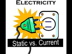 Static and Current electricity lesson for kids