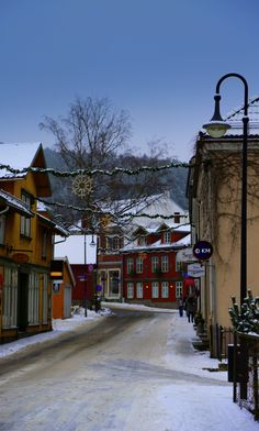 X mas time - Drøbak city, Norway   © Kari Meijers