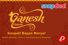 Snapdeal brings #GaneshChaturthi #store. In this store having Puja Essentials, Puja Preparation, Festive Shopping, Festive Decor. Festive Decor Store  Puja Essentials Store  Puja Preparation Store  Festive Shopping Store  http://www.paisebachaoindia.com/ganesh-chaturthi-with-ganesh-products-snapdeal/