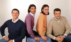 The fourth generation leaders of Fontanini. From left to right, Emanuele, Luca, Marco, and Stefano Fontanini. @Debbie Williams