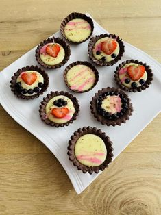 Mini Desserts, Muffin, Breakfast, Food, Basket, Morning Coffee, Essen, Muffins, Meals