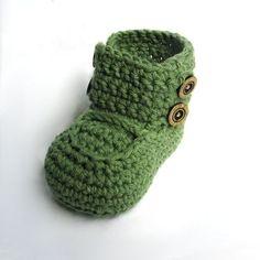 Instant digital download Supplies Crochet Pattern Booties di ketzl